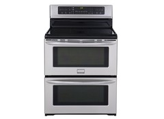 But The New Frigidaire Symmetry Double Oven Ranges Have As Name Implies Two Same Sized Ovens Consumer Reports Tested Of