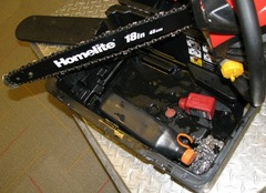 Home Depot sells 'new' chain saw that's been through the mill