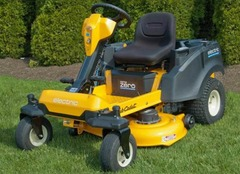 Out The Next Batch Of Mowers For Our Tests And Found A Zero Turn Radius Rider That Looks Like Changer Playing Off Its Name Cub Cadet Rzt S