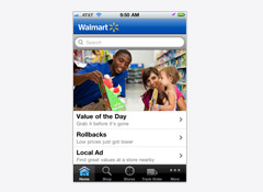 Walmart Iphone App Has Budgeting Tools Coupons And Shopping Lists