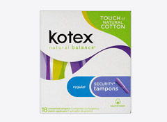 Kotex Tampons Recalled For Bacterial Contamination